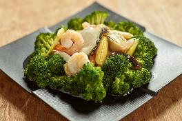 Broccoli with Seafood