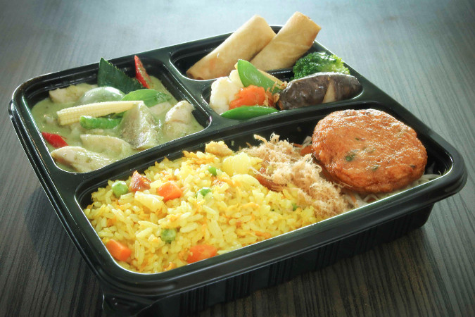 Green Curry Chicken Bento
