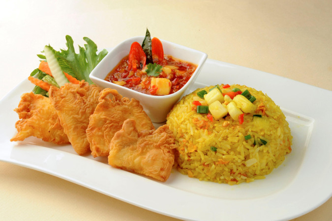 Bali thai order food online delivery or takeaway for Fish fried rice