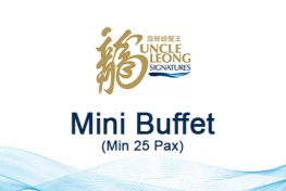 MINI BUFFET MENU