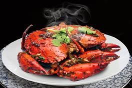 Black Pepper Crab 黑胡椒螃蟹 (+/- 1kg)