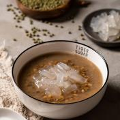 Roasted Mung Bean Soup with Golden QQ