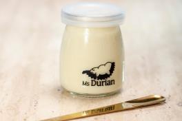 Durian Coconut Milk Pudding