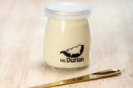 Durian Coconut Milk Pudding
