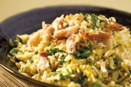 Swatow Fried Rice with Crab Meat & Kai Lan 汕头蟹肉芥兰炒饭