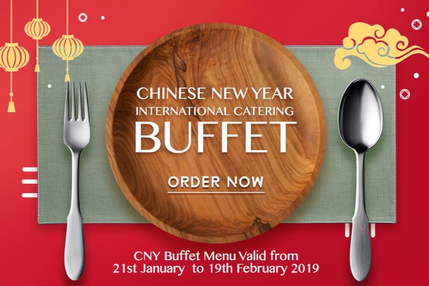 CHINESE NEW YEAR BUFFET MENU