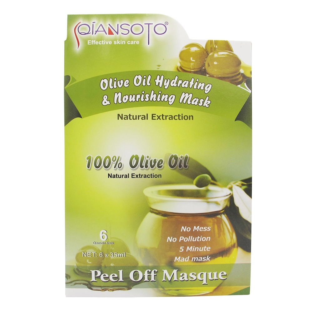Qiansoto Olive Oil Hydrating & Nourishing Mask