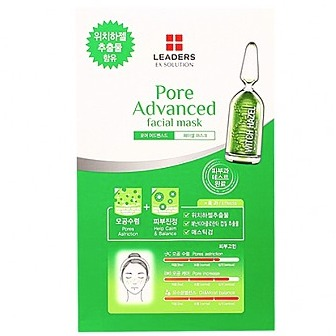 Leaders Ex Solution Pore Advanced Facial Mask