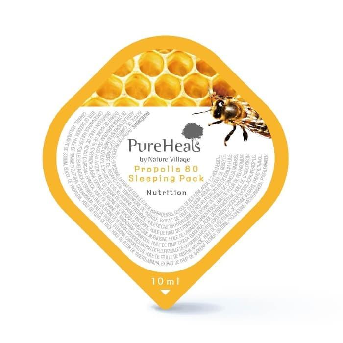 PureHeals Propolis 80 Sleeping Pack Blister
