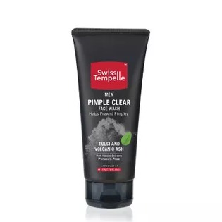 Swiss Tempelle Men Pimple Clear Face Wash