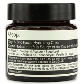 AESOP Sage & Zinc Facial Hydrating Cream – SPF15