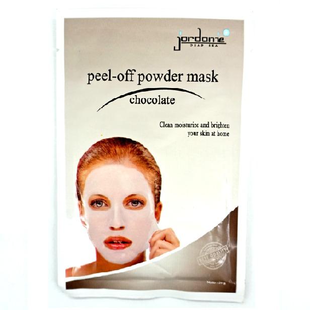 Jordanie Peel Off Powder Mask Chocolate
