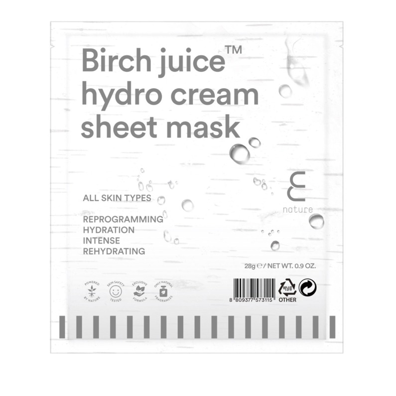 Enature Birch Juice Hydro Cream Sheet Mask