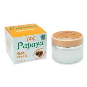 BDL Whitening Night Cream Papaya