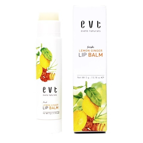 Evete Naturals Fresh Lemon Ginger Lip Balm