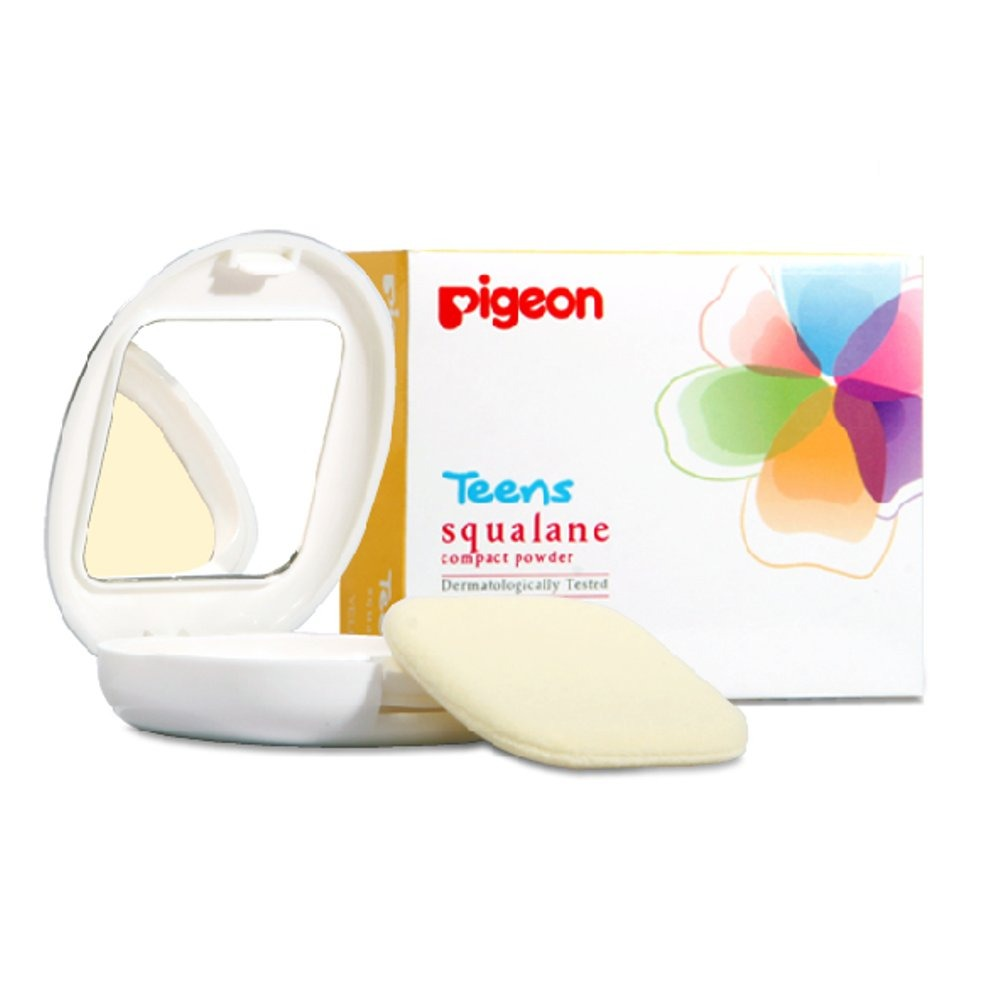 Pigeon Compact Powder Squalane Yellow