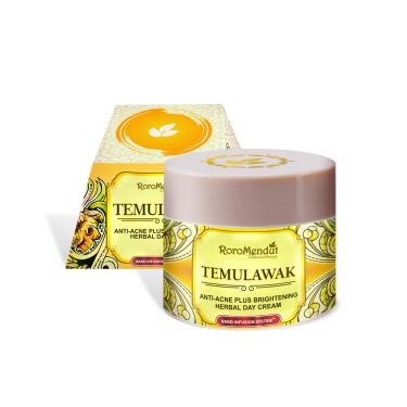 Roro Mendut Temulawak Anti-Acne Plus Brightening Herbal Day Cream