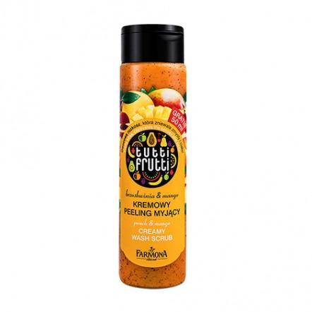 Tutti Frutti Peach & Manggo Creamy Wash Scrub