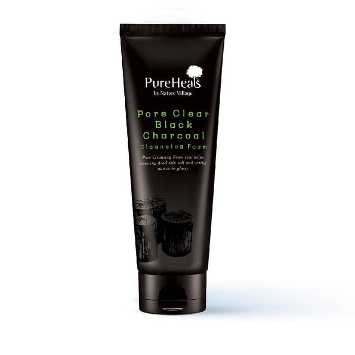 PureHeals Pore Clear Black Charcoal Cleansing Foam