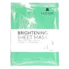 La Tulipe Brightening Sheet Mask