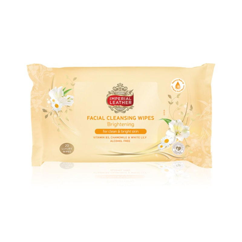 Imperial Leather Facial Wipes Brightening