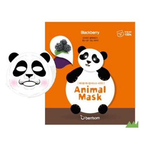 Berrisom Animal Mask - Panda Blackberry Extrac