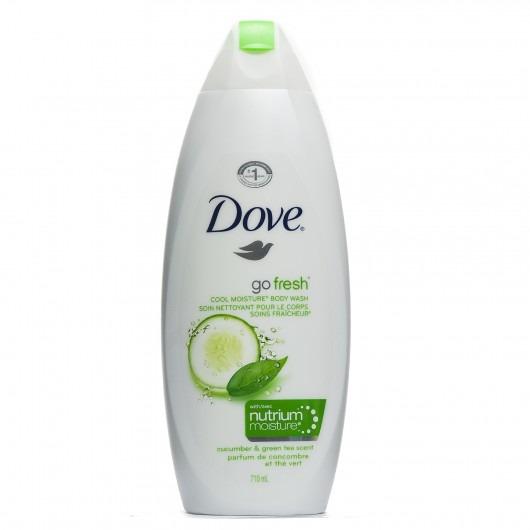 Dove Go Fresh Cool Moisture Body Wash With Nutrium Moisture Cucumber & Green Tea