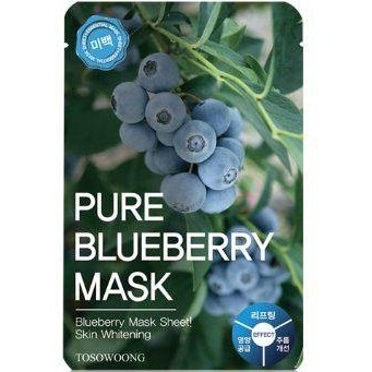 Tosowoong PURE BLUEBERRY MASK PACK