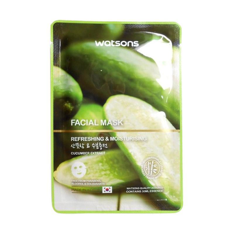Watson Facial Mask Cucumber Extract