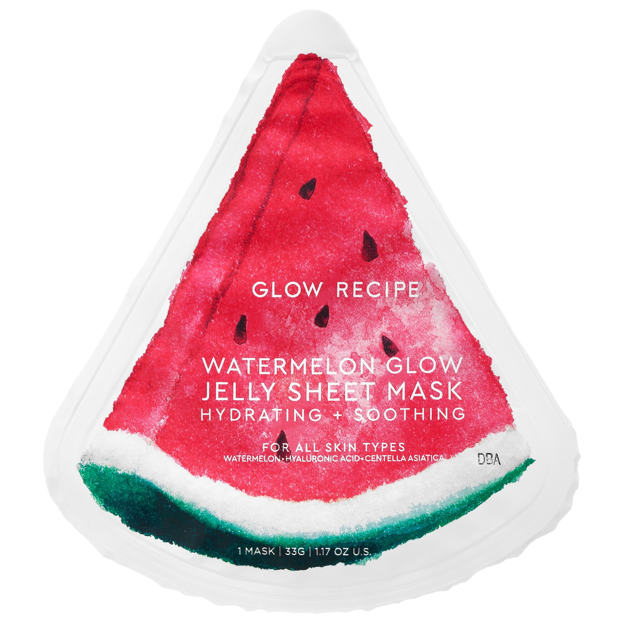 GLOW RECIPE Watermelon Glow Jelly Sheet Mask