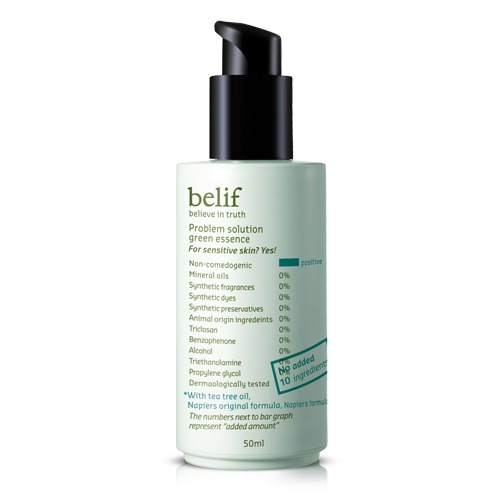 Belif Problem Solution Green Essence