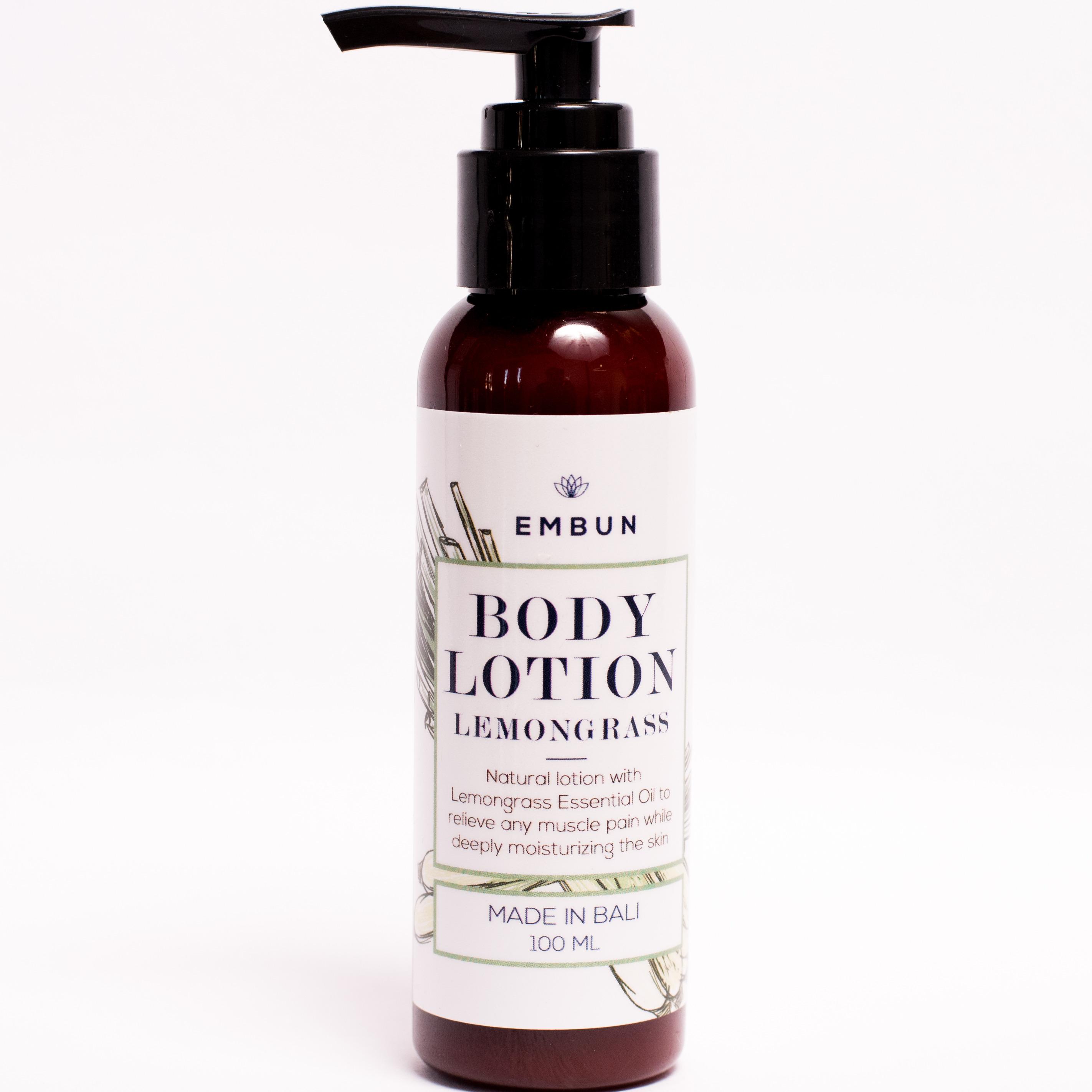 Embun Body Lotion Uplifting Lemongrass