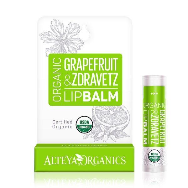 ALTEYA ORGANICS Grapefruit Zdravetz Lip Balm