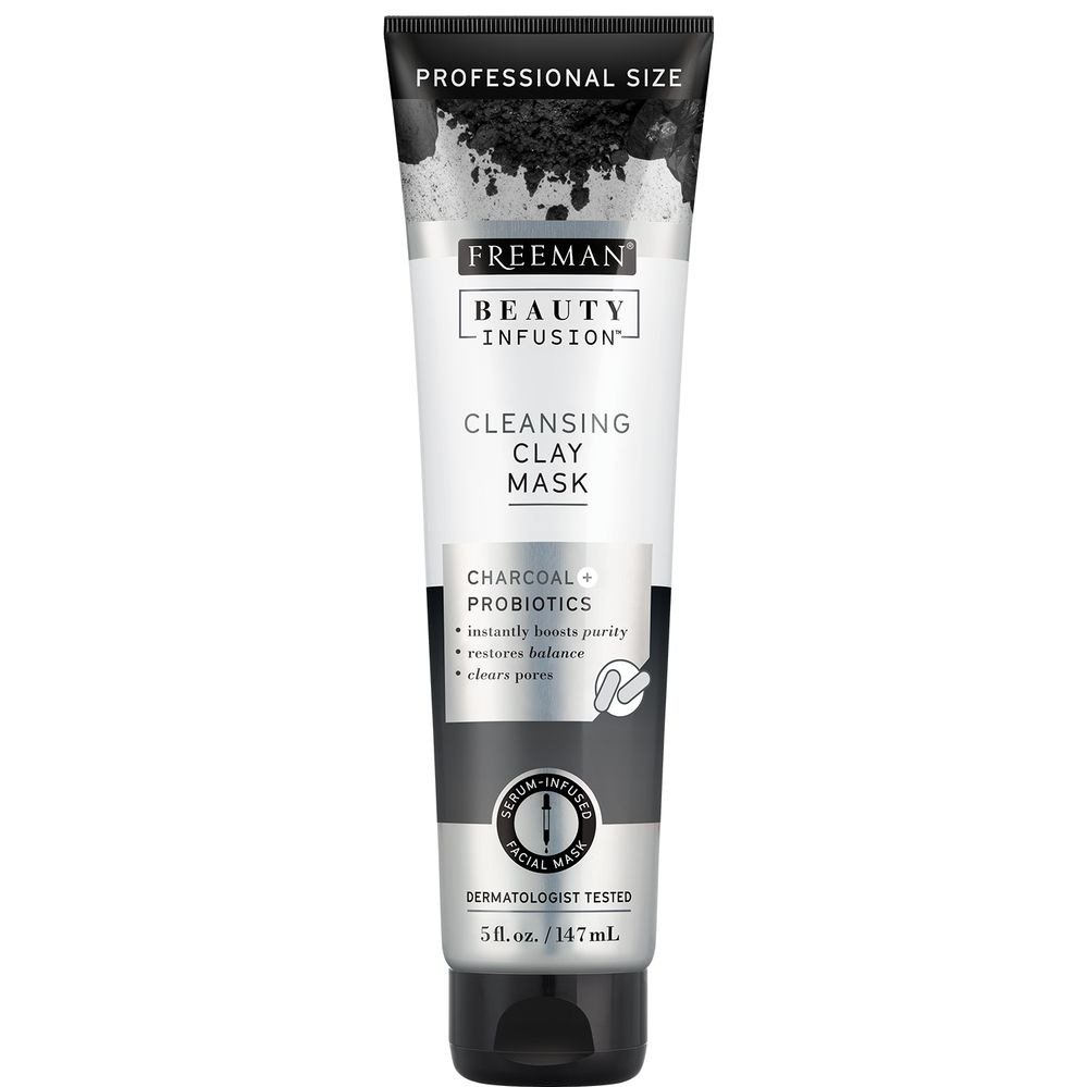 Freeman Beauty CLEANSING CLAY MASK CHARCOAL + PROBIOTICS