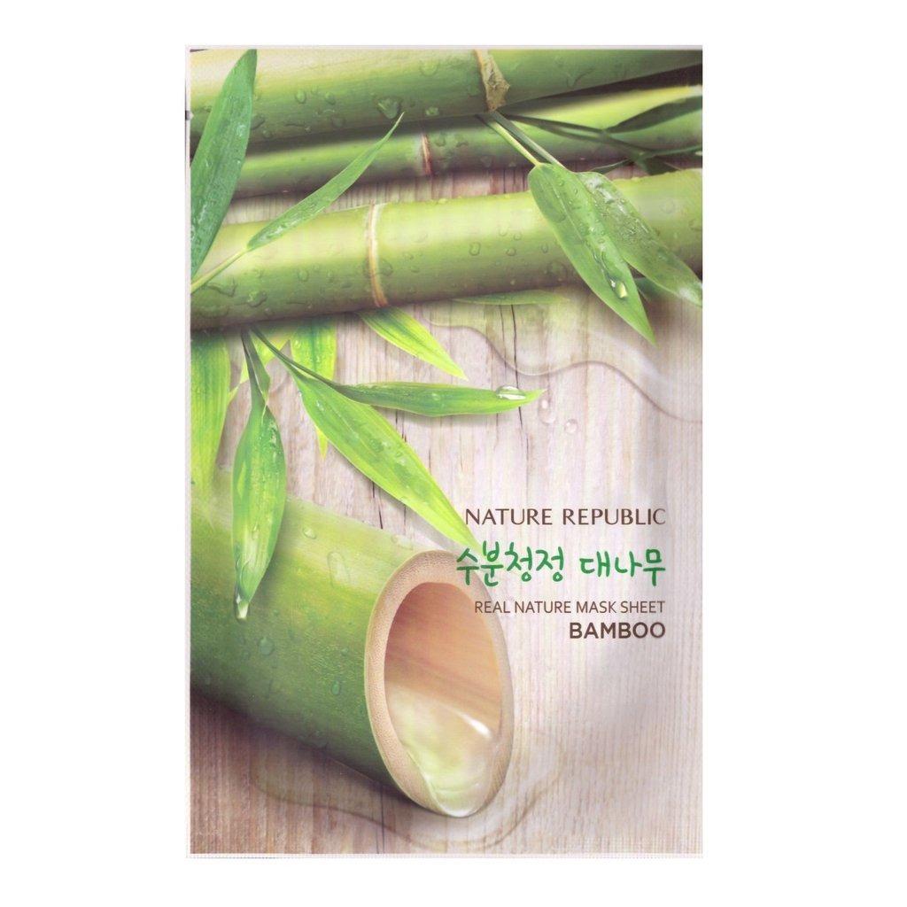 Nature Republic Real Nature Mask Sheet - Bamboo