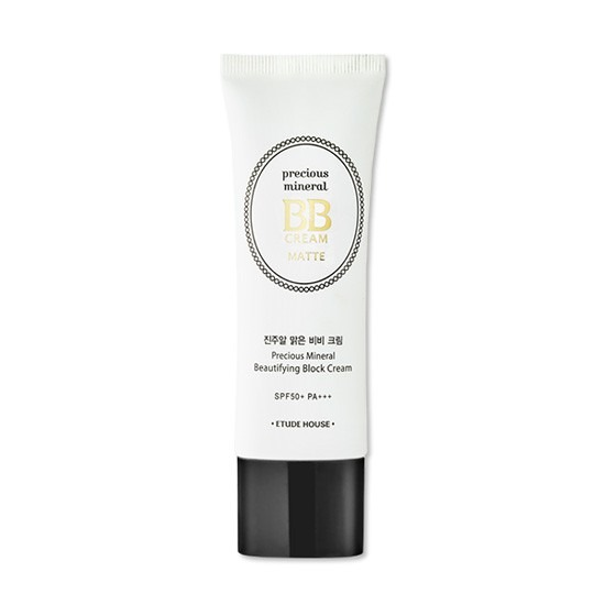 Etude House Precious Mineral Beautifying Block Cream Matte SPF 50+/PA+++