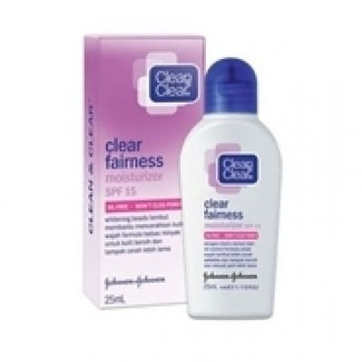 Clean & Clear Clear Fairness Moisturizer SPF 15
