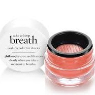 philosophy take a deep breath (cushion color for cheeks)