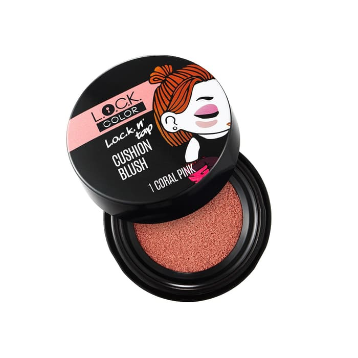 L.O.C.K. Color L.O.C.K. n' TAP CUSHION BLUSH CORAL PINK