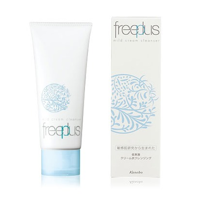 Kanebo FREEPLUS – MILD CREAM CLEANSER