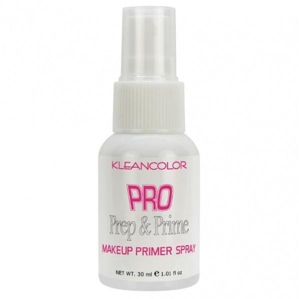 klean colour Pro Prep & Prime Makeup Primer Spray