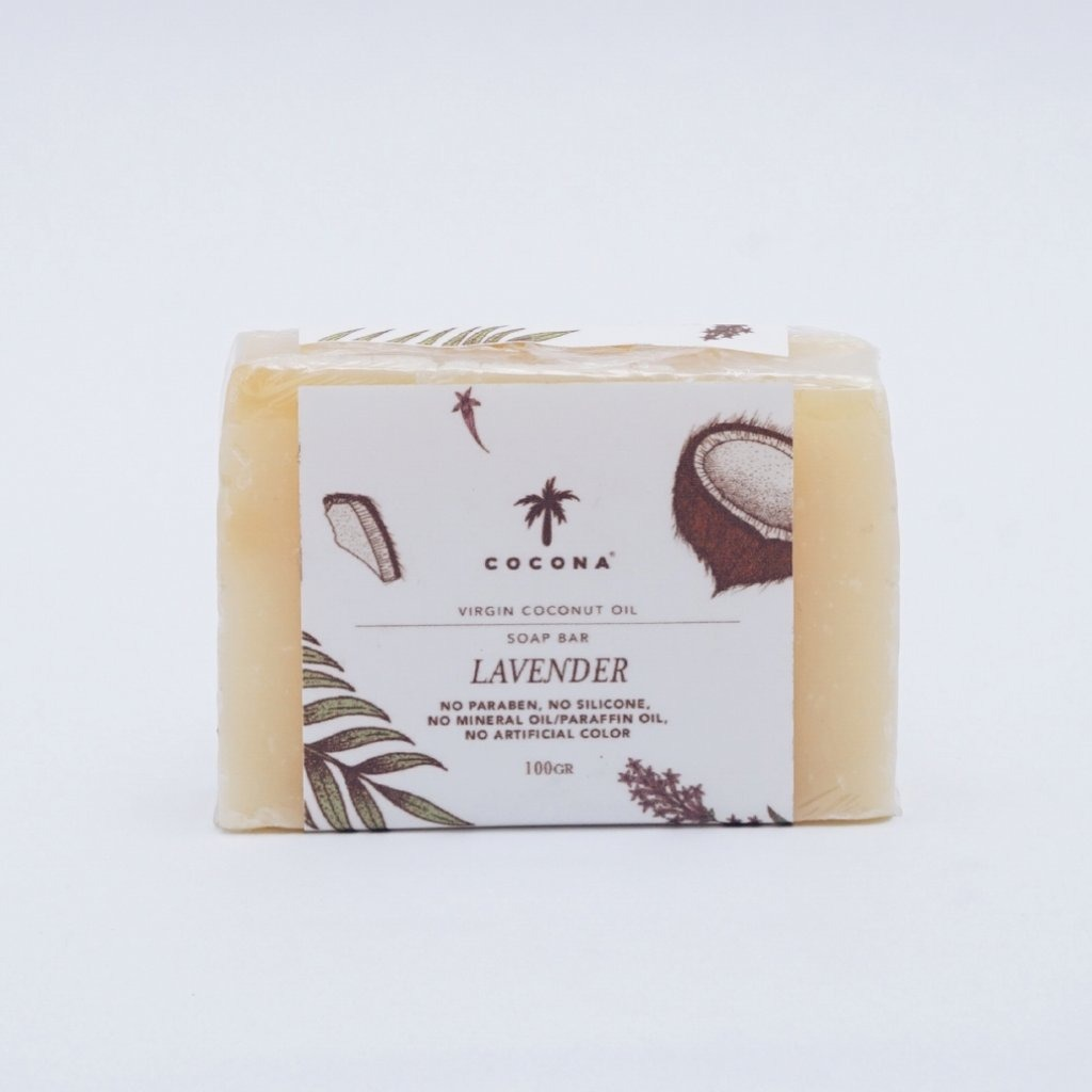 Cocona Care Natural Soap Bar Lavender