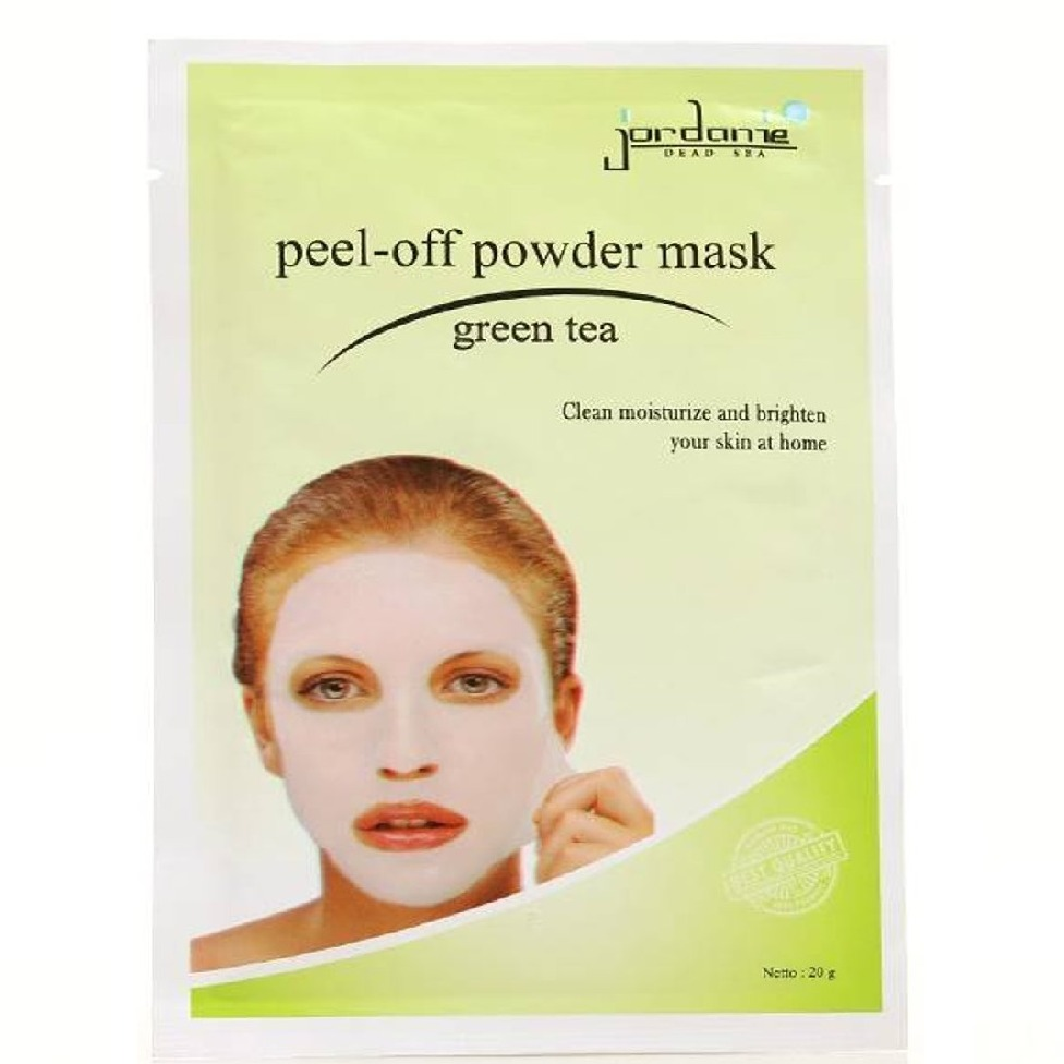 Jordanie Peel Off Powder Mask Green Tea
