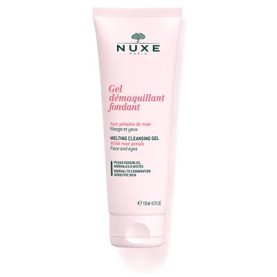 Nuxe Cleansing Gel with Rose Petals