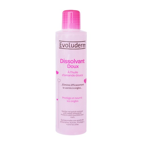 Evoluderm Sweet Almond Nail Polish Remover