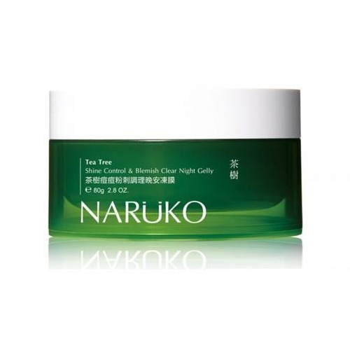 Naruko Tea Tree Shine Control&Blemish Clear Night Gelly