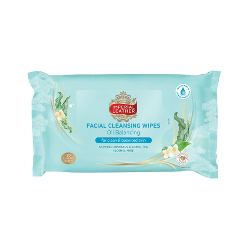Imperial Leather Facial Wipes Balancing