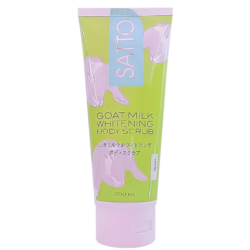 Satto Body Scrub White Goat Milk