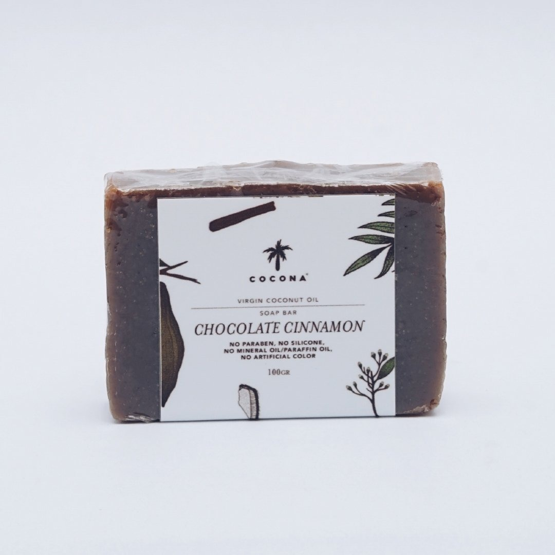 Cocona Care Natural Soap Bar Chocolate Cinnamon