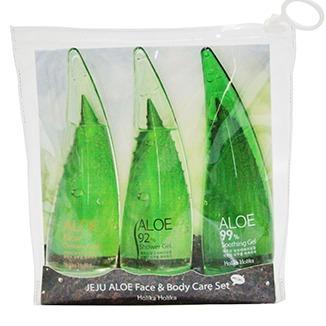 Holika Holika Jeju Aloe Face & Body Care Set